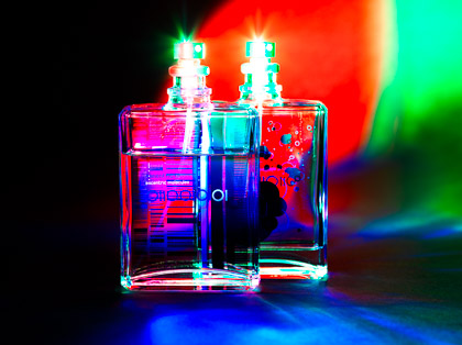 Escentric Molecules Fragrance :: Blended Primary Colours :: (c) robert poll